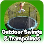 Outdoor Frames and Trampoline