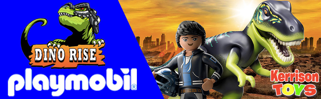 NEW Dino Rise from Playmobil